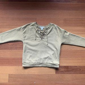 Forever 21 Tied Up Sweatshirt